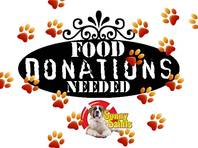 Dog food donations needed